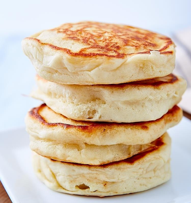pancakes χωρίς αυγά