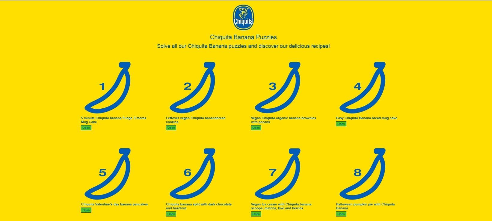 chiquita παιχνίδια