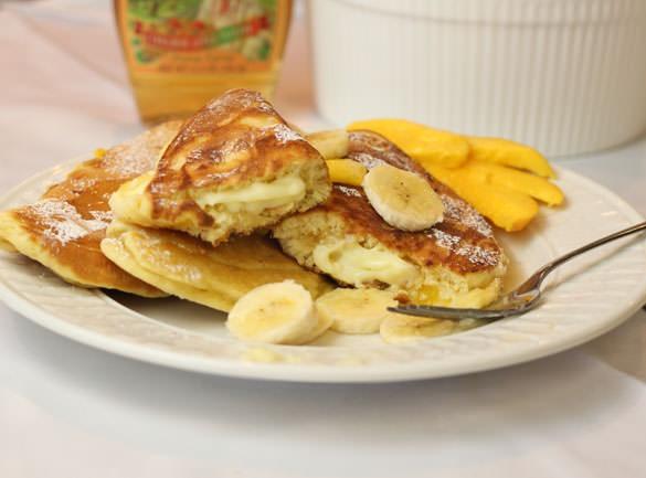 γεμιστά pancakes