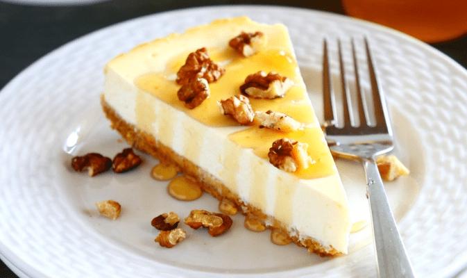 ελαφρύτερο cheesecake