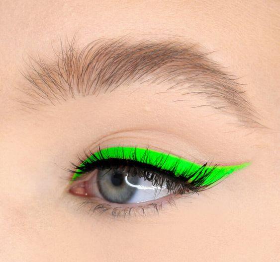 neon σκιά ματιών