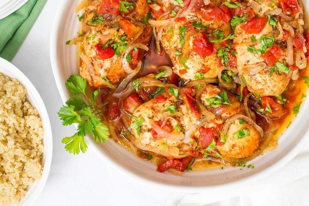κοτόπουλο με μπαλσάμικο