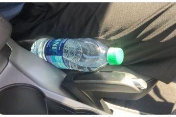 πλαστικά μπουκάλια αμάξι