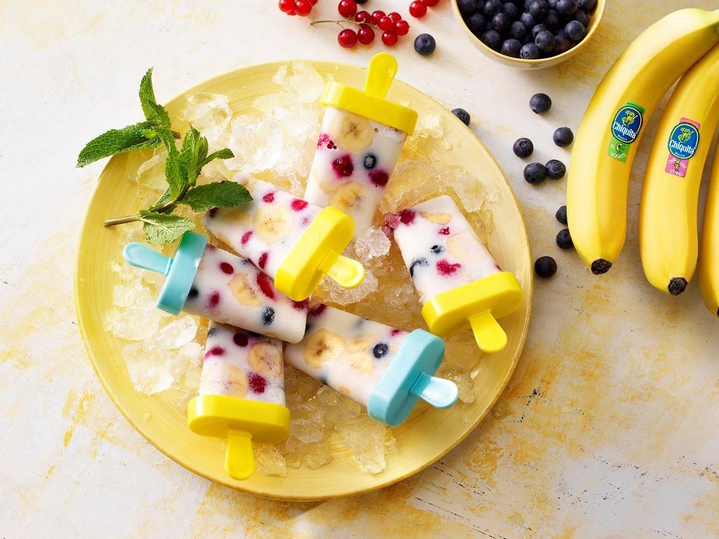 παγωτό μπανάνα