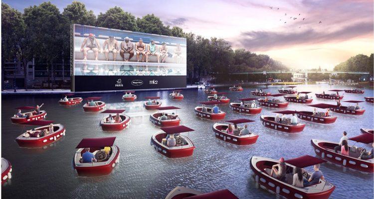 πλωτό σινεμά