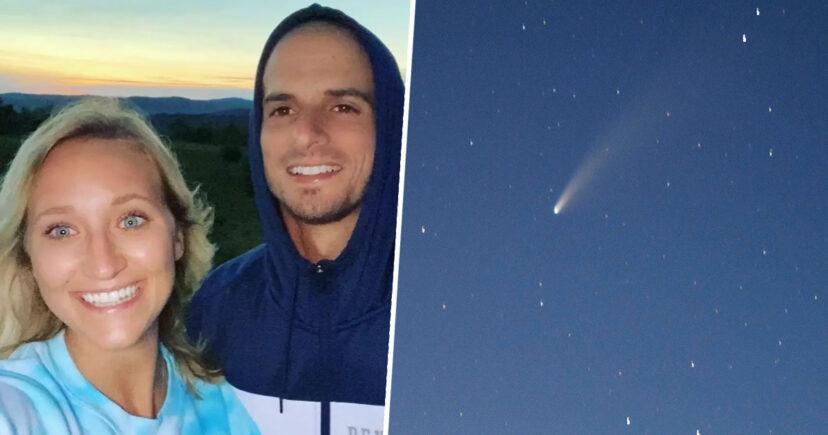πρόταση γάμου κομήτης
