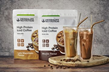 High Protein Iced Coffee mocha