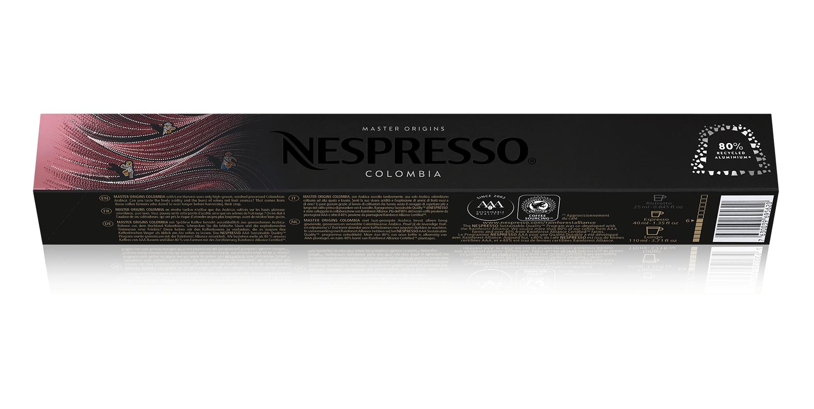 nespresso ανακυκλωμένο αλουμίνιο