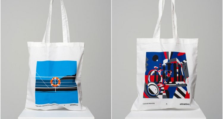 attrattivo shopping bags