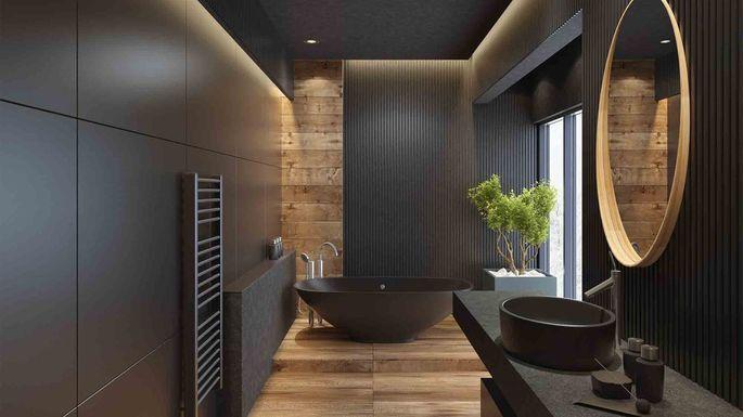 μαύρα μπάνια