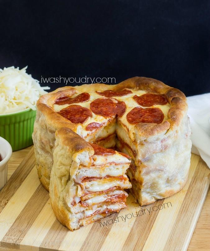 τούρτα πίτσα