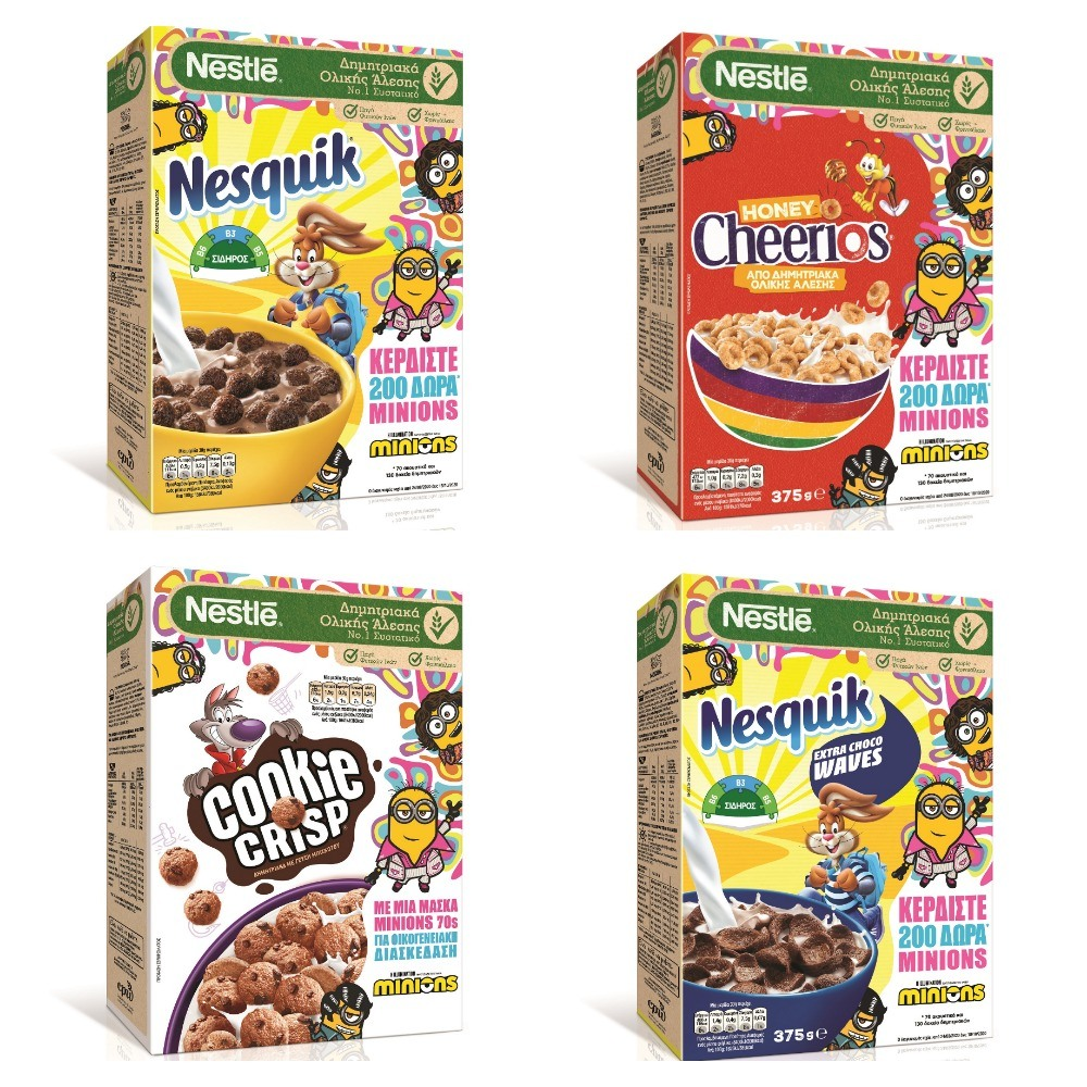 minions Nestlé