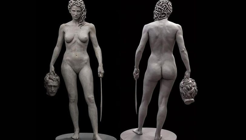 άγαλμα Μέδουσας