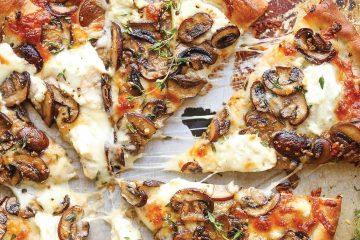 λευκή πίτσα