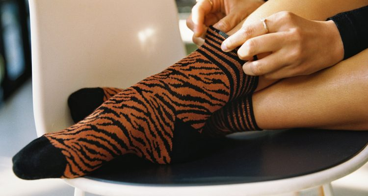 κάλτσες μέχρι τον αστράγαλο
