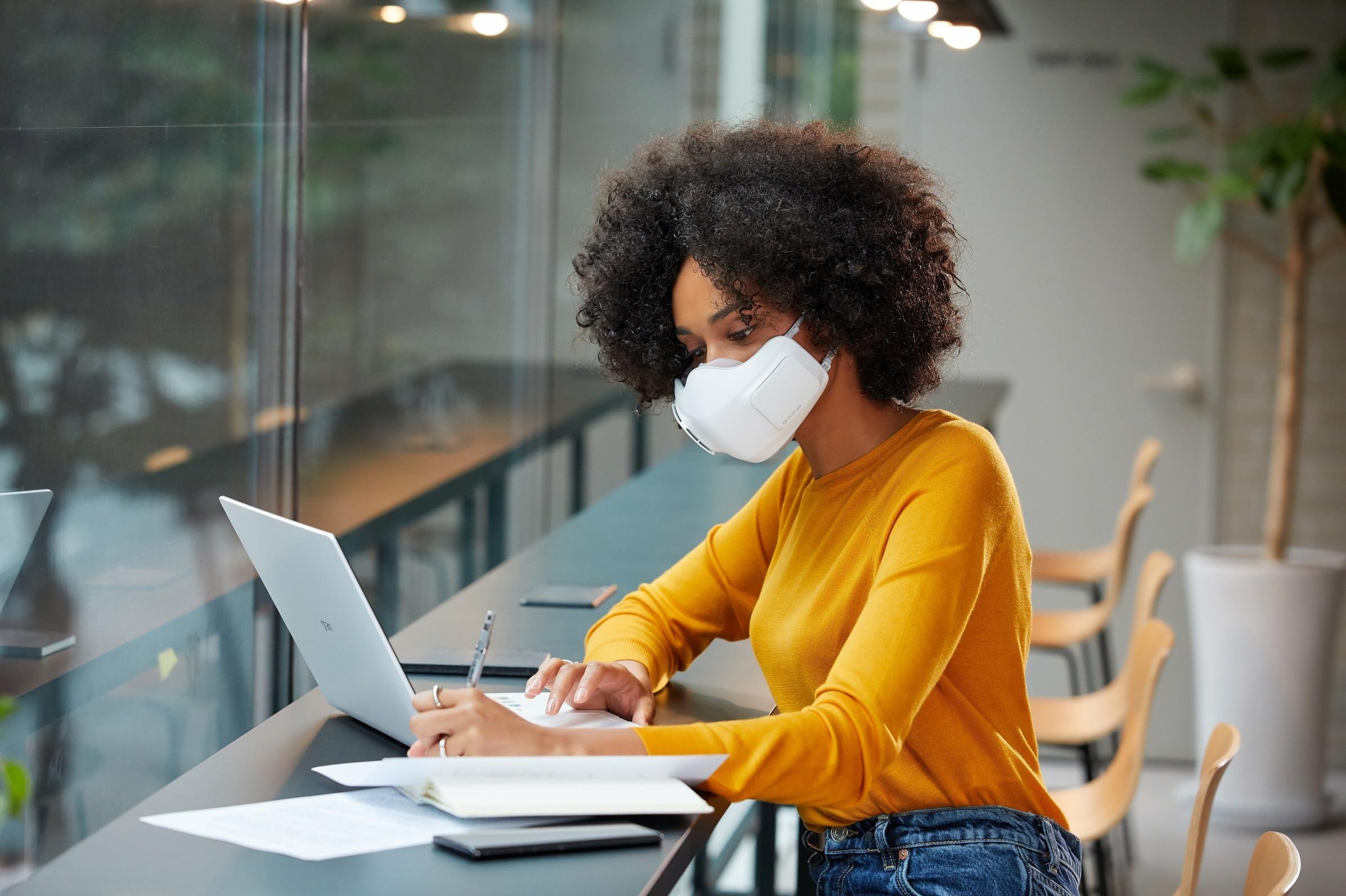 μάσκα LG Air Purifier PuriCare™