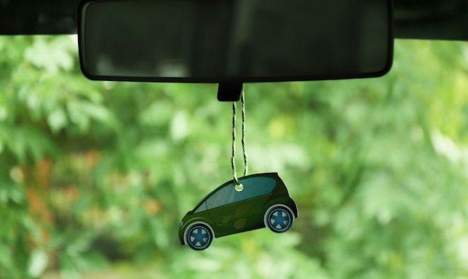 DIY αρωματικό αυτοκίνητου